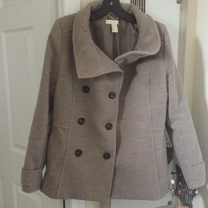 H&M Light Gray Coat